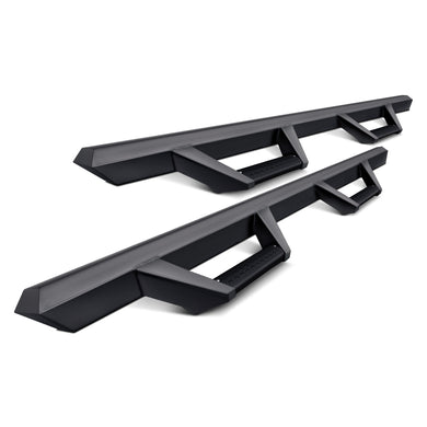 Armordillo Drop Side Steps Ford F250/F350/F450 (99-16) Matte Black - SuperCab or SuperCrew