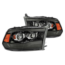 Load image into Gallery viewer, AlphaRex Projector Headlights Ram 1500 / 2500 / 3500  [Pro Series - Sequential Signal] (09-18) 5th Gen 2500 Style or G2 Style