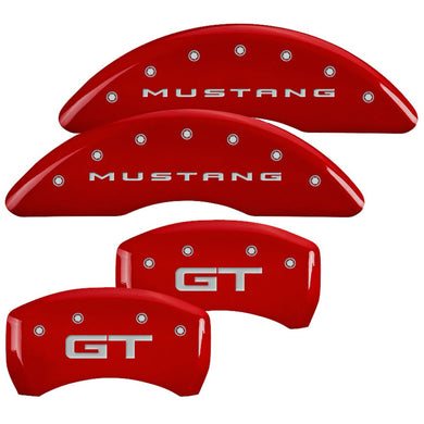 MGP Brake Caliper Covers Ford Mustang GT (2015-2019) Red