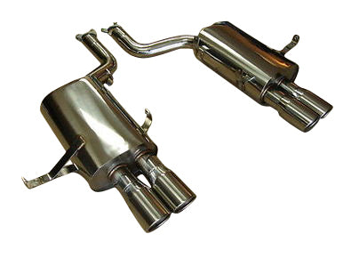 Top Speed Pro 1 Exhaust BMW E39 M5 (2000-2003) Quad Tip Dual Mufflers
