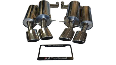 Top Speed Pro 1 Exhaust BMW E60 M5 V10 (2006-2010) Rear Section