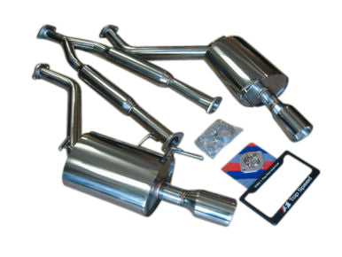 Top Speed Pro 1 Exhaust Infiniti G35 RWD / G35X AWD / G37 Sedan (2007-2014) Y-Pipe Back