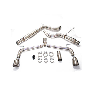 Rev9 Catback Exhaust VW Golf GTI MK7 (2015-2016-2017) Muffler Delete or High Flow Mufflers