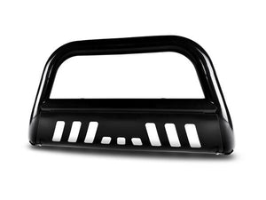 Armordillo Bull Bar Guard Chevy Colorado [Classic w/ Skid Plate] (04-12) Black/Matte Black/Polished