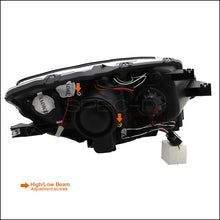 Load image into Gallery viewer, Spec-D Projector Headlights Honda S2000 AP2 [Halo] (2004-2009) Black or Chrome