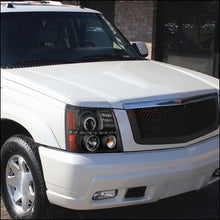 Load image into Gallery viewer, Spec-D Projector Headlights Cadillac Escalade [Dual Halo LED] (02-06) Black Housing