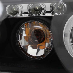 Spec-D Projector Headlights Chevy Malibu [Dual Halo LED] (2004-2007) Black Housing