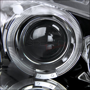 Spec-D Projector Headlights Mitsubishi Eclipse 4G [LED Halo] (06-11) Black or Chrome