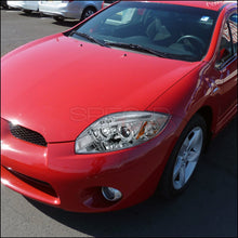 Load image into Gallery viewer, Spec-D Projector Headlights Mitsubishi Eclipse 4G [LED Halo] (06-11) Black or Chrome