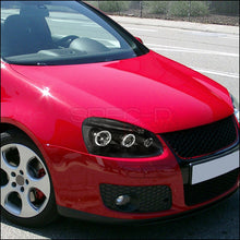 Load image into Gallery viewer, Spec-D Projector Headlights Golf/Rabbit (06-08) Jetta (06-10) MK5 [Halo LED] Black / Chrome