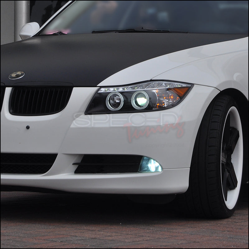 Spec-D Projector Headlights BMW E82 128i / 135i [Halo LED] (07-13) Black Housing