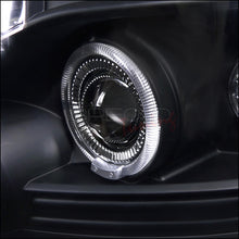 Load image into Gallery viewer, Spec-D Projector Headlights Chevy Tahoe / Avalanche [Dual Halo LED] (07-13) Black Housing