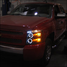 Load image into Gallery viewer, Spec-D Projector Headlights Chevy Silverado (2007-2013) Black or Chrome