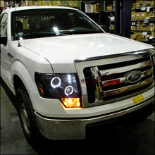 Load image into Gallery viewer, Spec-D Projector Headlights Ford F150 [Dual Halo LED] (09-14) Black or Chrome