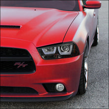 Load image into Gallery viewer, Spec-D Projector Headlights Dodge Charger [Halo LED] (2011-2014) Black or Chrome