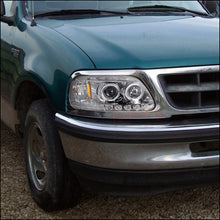 Load image into Gallery viewer, Spec-D Projector Headlights Ford F150 / Expedition [Halo LED] (97-03) Black or Chrome