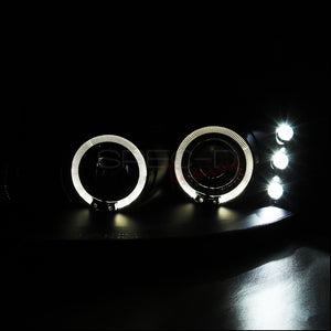 Spec-D Projector Headlights Dodge Intrepid [Dual Halo LED] (98-04) Black or Chrome Housing