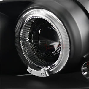 Spec-D Projector Headlights Pontiac Grand Am [Halo LED] (99-05) Black or Chrome