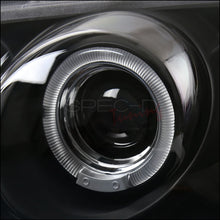 Load image into Gallery viewer, Spec-D Projector Headlights Nissan Sentra [Dual Halo] (00-03) Black or Chrome