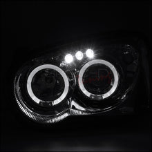 Load image into Gallery viewer, Spec-D Projector Headlights Subaru WRX [Dual Halo LED] (04-05) Black or Chrome