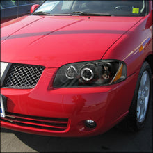 Load image into Gallery viewer, Spec-D Projector Headlights Nissan Sentra [Dual Halo] (2004-2005-2006) Black or Chrome