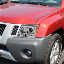Load image into Gallery viewer, Spec-D Projector Headlights Nissan Xterra [Dual Halo] (05-12) Black or Chrome