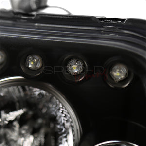 Spec-D Projector Headlights Scion xB (2008 2009 2010) Black or Chrome