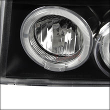 Load image into Gallery viewer, Spec-D Projector Headlights Ford F150 / F250 / F350 / Bronco [Dual Halo] (92-96) Chrome / Black