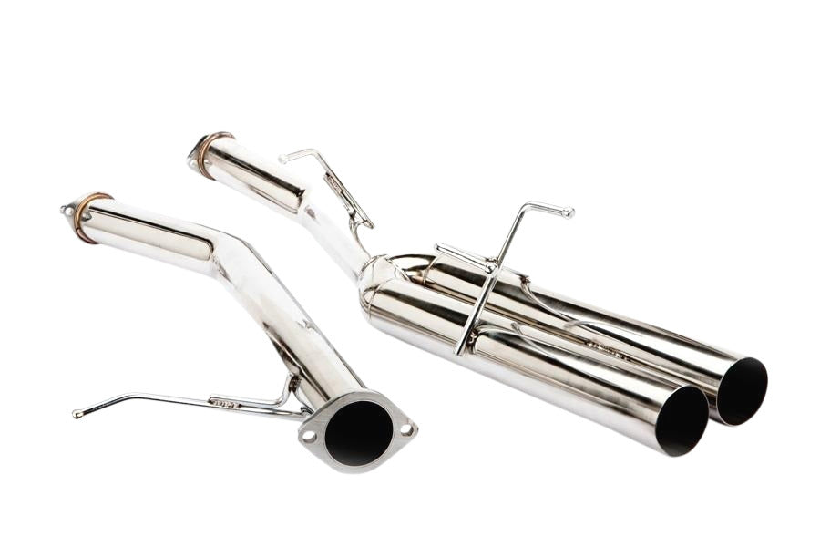 ISR Exhaust Nissan 240SX S13 [Straight Pipe Muffler Delete] (89-94) 3