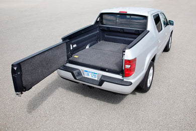BedRug Truck Bed Mat Honda Ridgeline w/ 2PC Flr Accom Full use of trunk (17-19) w/ 64.0