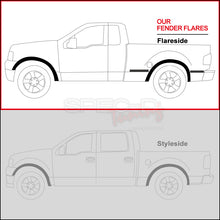 Load image into Gallery viewer, Spec-D Fender Flares Ford F150 [OEM Style Flareside] (2004-2008) FDF-F150F04BK-RS