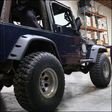 Load image into Gallery viewer, Spec-D Fender Flares Jeep Wrangler TJ (1997-2006) Full Set of 4 in Black