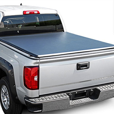 Spec-D Tonneau Cover Chevy Silverado (2007-2014) Tri-Fold Soft Cover