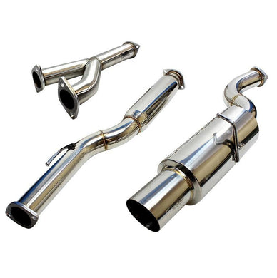 ISR Exhaust Hyundai Genesis V6 [Single Muffler GT] (09-18) IS-GT-GEN38