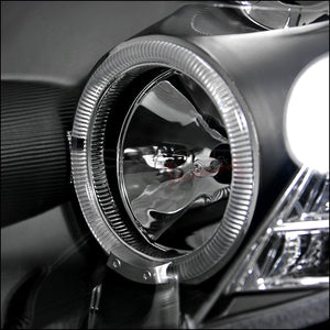 Spec-D Projector Headlights Infiniti G35 Sedan [Halo] (2005-2006) Black or Chrome