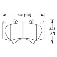 Load image into Gallery viewer, Hawk HPS Brake Pads Lexus GX460 (10-19) GX470 (03-09) Front or Rear