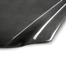 Load image into Gallery viewer, SEIBON Carbon Fiber Hood Nissan Skyline GT-R R34 (99-02) DS or OE Style