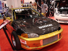 Load image into Gallery viewer, SEIBON Carbon Fiber Hood Honda Civic Coupe (1992-1995) OEM or TS Style
