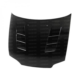 SEIBON Carbon Fiber Hood Honda Civic Coupe (1992-1995) OEM or TS Style