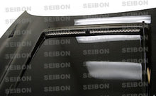 Load image into Gallery viewer, SEIBON Carbon Fiber Hood Mitsubishi 3000GT (1994-1999) OEM or DVII Style