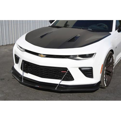 APR Front Splitter Chevy Camaro SS 1LE [w/ Rods] (2016-2018) CW-603624