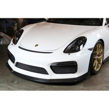Load image into Gallery viewer, APR Carbon Fiber Front Lip / Airdam Porsche Cayman GT4 (15-16) FA-545052