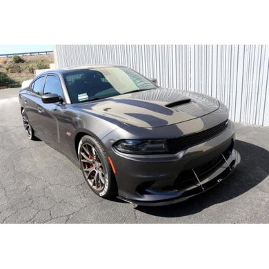 APR Front Splitter Dodge Charger SRT8/HellCat/Scat Pack [w/ Rods] (15-19) CW-721501