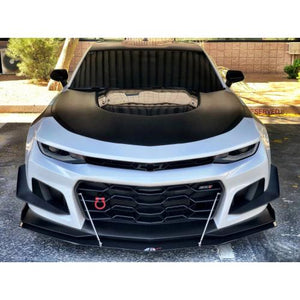APR Front Splitter Chevy Camaro ZL1 1LE [w/ Rods] (2017-2018) CW-601821