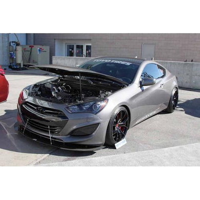APR Carbon Fiber Splitter Hyundai Genesis Coupe [w/ Rods] (13-14) CW-663013