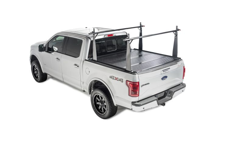 BAK BAKFlip CS Truck Bed Cover w/ Rack Toyota Tacoma w/ 5' Bed (60.3