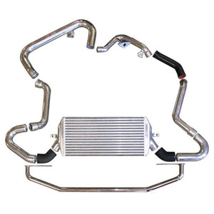 Injen Turbo Intercooler Subaru WRX / STi 2.5L Turbo (2004-2005) Polished / Red