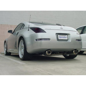 Invidia N1 Exhaust Nissan 350Z [Polished Tips] (2003-2008) HS02N3ZGTP