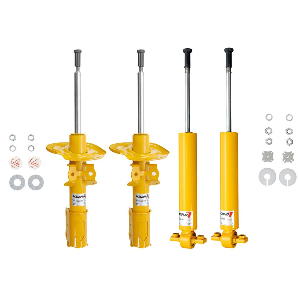 Koni Yellow Sport Shocks Acura Integra Type-R (1997-2001