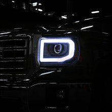 Load image into Gallery viewer, Spec-D Projector Headlights GMC Sierra [LED DRL] (14-16) Black Housing